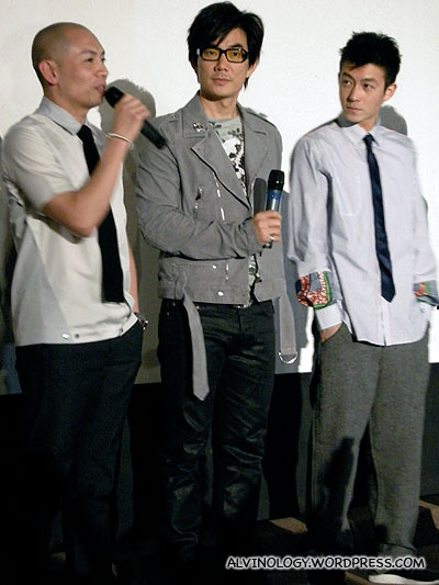 Dante Lam, Richie Ren and Edison Chen