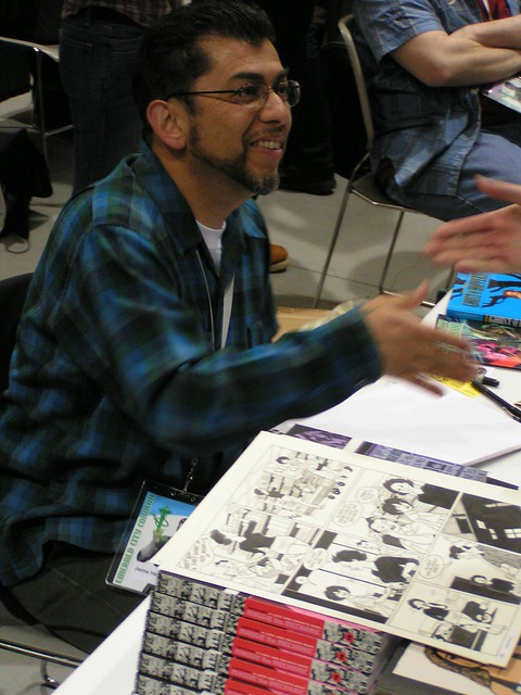 Jaime Hernandez at the Emerald City Comicon 2009