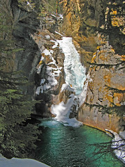 Johnston Canyon (richardcjones) Tags: canada mountains waterfall alberta rockymountains johnstoncanyon