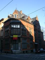 Ooststraat 2, Schaarbeek (Erf-goed.be) Tags: geotagged brussel schaarbeek archeonet ooststraat hoekgebouw geo:lat=508623 geo:lon=43726