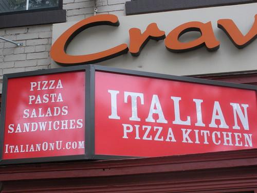 Italian Pizza Kitchen U Street Dc