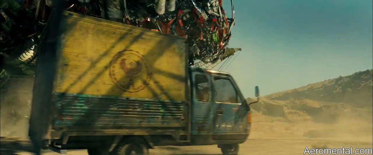 Transformers 2 Devastator desierto