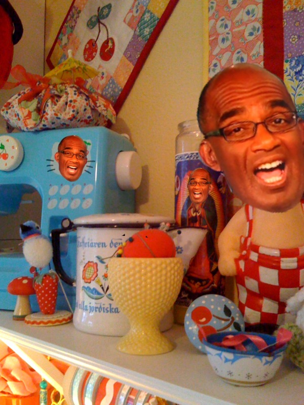 Al Roker - My first victim...