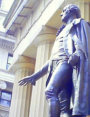 George Washington (newyorkdude) Tags: wallstreet geargewashington