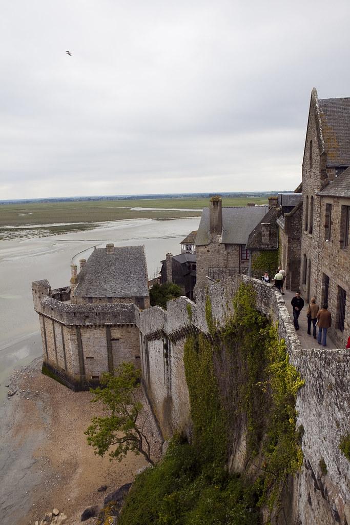 Mont Saint-Michel - Depuis lilot