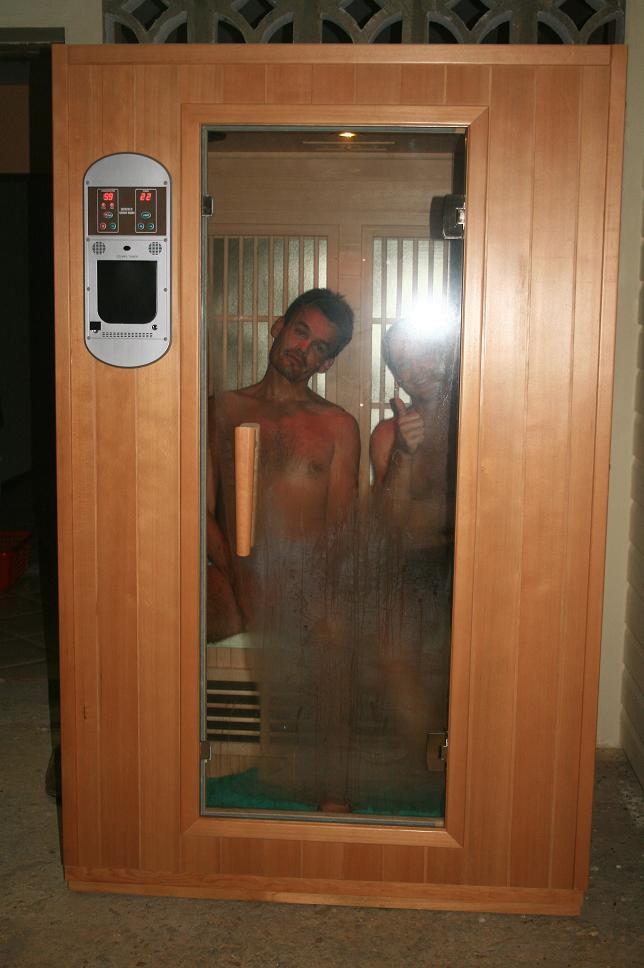 sauna à Poindimie chez olivier et kandy #1