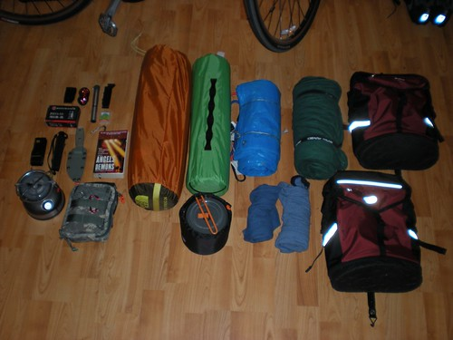 Overnight Bike Trip Gear
