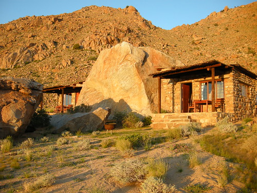 The Boulder: our home for two nights