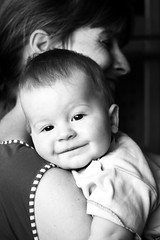 At first glance (photon tamer) Tags: family boy portrait people baby cute love face kids children kid eyes child sweet sony innocent mother curious alpha 700 samuel motherandchild top20childrensportraits
