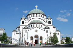 Cathedral of Saint Sava, Belgrade (George M. Groutas) Tags: church serbia belgrade orthodox 2009 beograd orthodoxchurch saintsava serbianorthodoxchurch httpwwwhramsvetogsavecom