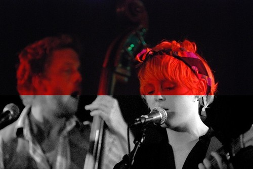 laura marling, under the red lights and b&w