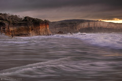 Today's Special (WilliamBullimore) Tags: ocean sunrise dawn waves australia victoria cliffs granite greatoceanroad anglesea