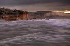 Today's Special (WilliamBullimore) Tags: ocean sunrise dawn waves australia victoria cliffs granite greatoceanroad anglesea