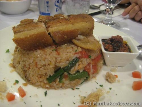 AngelsKitchen pinakbet rice with lechon kawali and chocolate bagoong