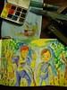 Bijou watercolor box test doodles (betolung) Tags: waterbrush winsornewton pentelaquash bijoubox artistswatercolors