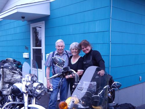 Ev's parents, Hal and Ada