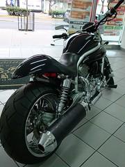 Motorcycles 2 (tetrabrain) Tags: bike chopper palace motorcycle modified hyosung motocicleta aquila cv650