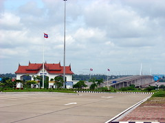 Mekong River Bridge, Thailand - Laos Border