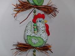Nova galinha... (F Eccel- Feltro no capricho) Tags: feltro tecido mbile galinhas