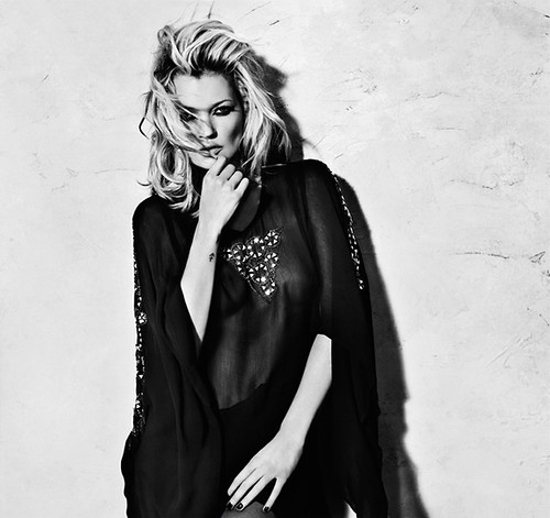 Kate Moss Topshop Autumn/Winter Collection 2009 Triangle Stud Kaftan