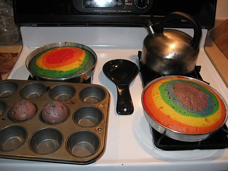 Cakes baked