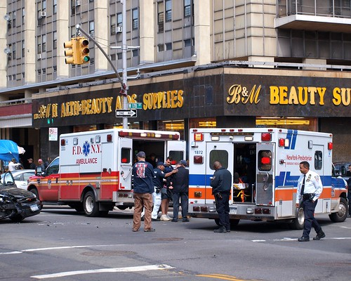FDNY and New York-Presbyterian Hospital EMS Ambulances, Washington