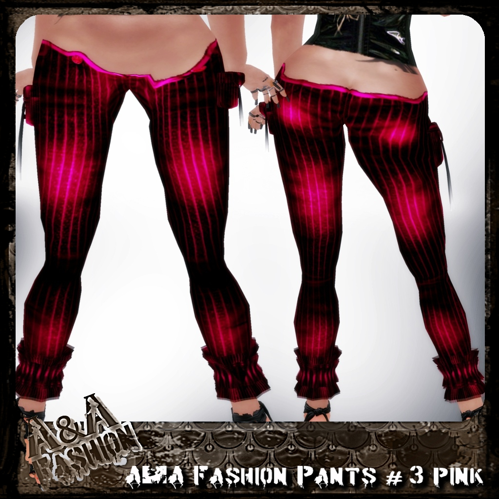 A&A Fashion Pants #3 Pink