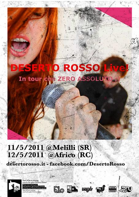 Flyer 11-12-Maggio 2011 DESERTO ROsso