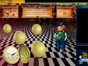 free Forest Treasure slot bonus game 1