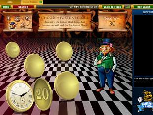 free Forest Treasure slot bonus game 1