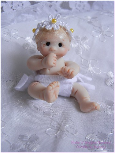 Baby Rachael  by Kicks 'n' Giggles Nursery