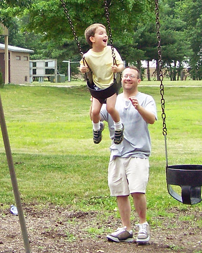 Chris and Mitchell Swing 2