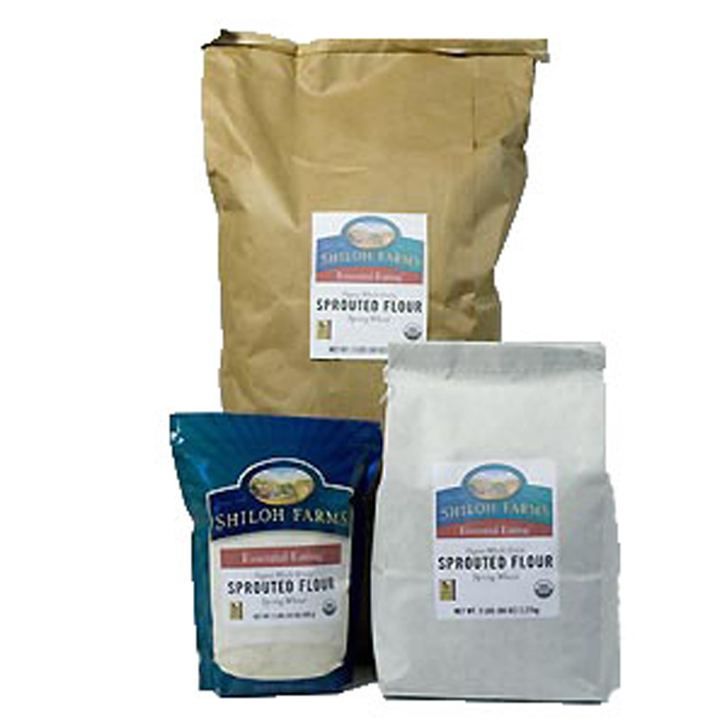 Sprouted 100% Whole Grain Flours