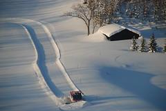 Snowplow in Niseko Higashiyama (SkylineGTR) Tags: snow japan hokkaido   niseko  dsc1316