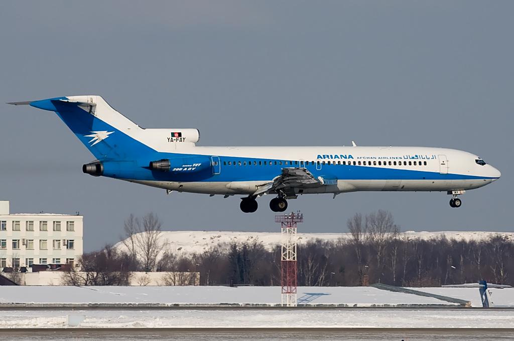 Ariana Afghan Airlines YA-FAY Boeing 727-228/Adv