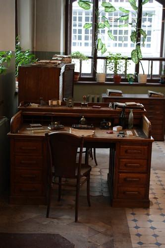 Типография. Рабочий стол корректора.