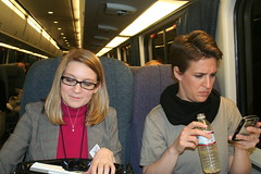 Working on the road (The Rachel Maddow Show) Tags: msnbc rachelmaddow accela therachelmaddowshow