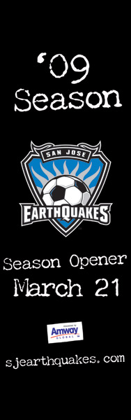 Earthquakes banner