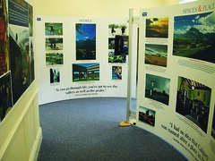 Exhib launch at Mid Steeple Dumfries