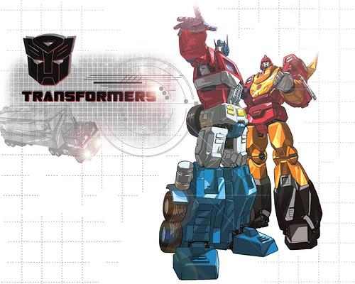 Flickr: Discussing Optimus Prime Vs Rodimus Prime in