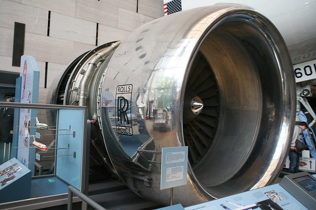 rolls royce turbofan engines