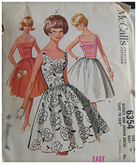 McCalls 6354 - Misses and Junior Dress (babblative) Tags: vintage pattern sewing mccalls