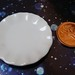 Dollhouse Miniature - 3.5cm Ceramic Plates (Set of 4) - Supplies