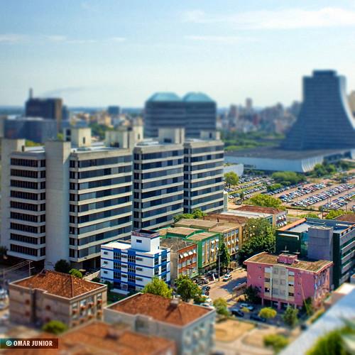 Mini Porto Alegre | tilt-shift fake