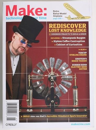 MAKE magazine, vol 17: Lost Knowledge