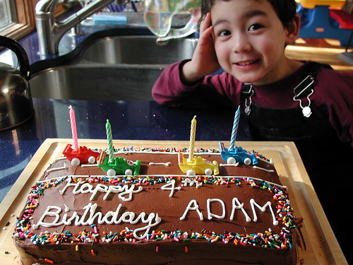 Adam's 4th Birthday Cake