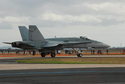 RAAF F/A-18 Hornet No. 75 Squadron