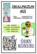 Kimya Ödev Kapağı - 2