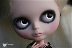 Shiny :) (♥Nequitia♥) Tags: bigeyes eyes doll body makeup carving mohair blythe custom dolly mate pbp muñeca reroot pureneemo plugbyplug nequitia