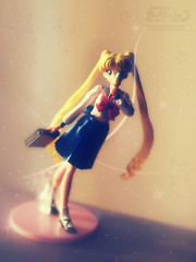 Doll Sailor Moon 1 (Dream.Ver.) (DiEmotion) Tags: life lighting school light portrait baby sun moon mist snow anime macro girl beautiful beauty rain japan fog lady photomanipulation photoshop canon studio walking stars toy eos japanese 50mm star stand still glamour doll mine glow takumar bokeh miracle walk f14 object magic 14 dream manga super babe teen fairy f owned figure teenager cs mm sailor 50 smc mystic sailormoon mystique usagi bani fuka 400d cukino
